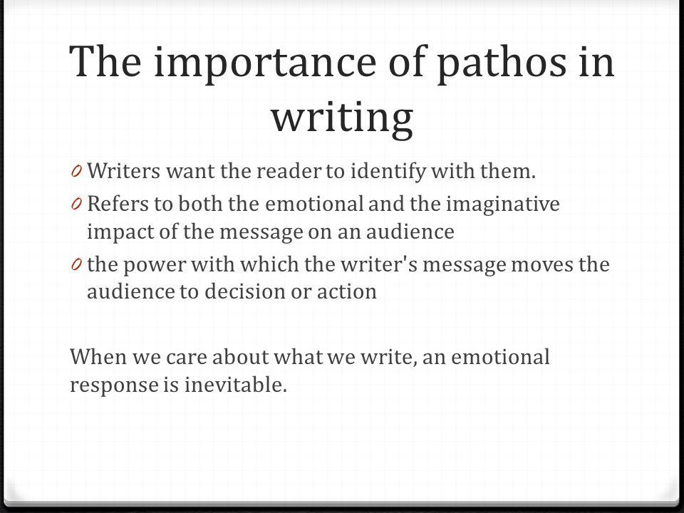 pathos in writing