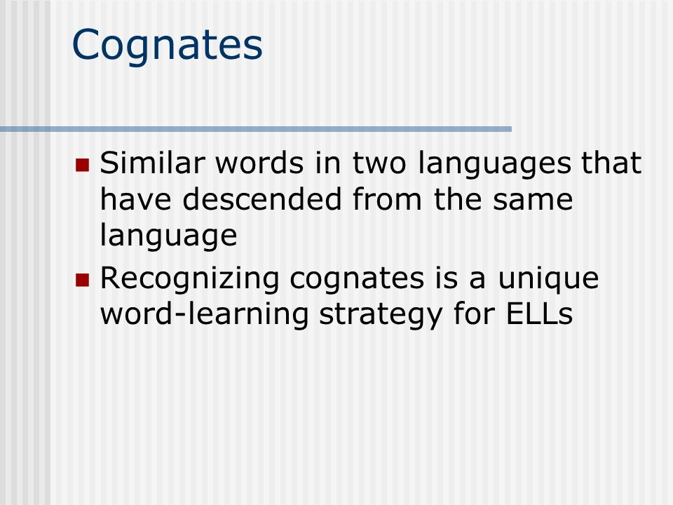 VOCABULARY STRATEGIES -Awareness of words -Wide reading