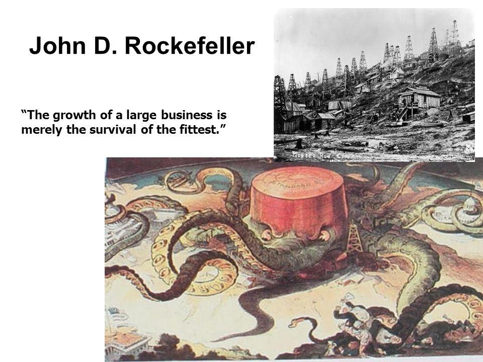 rockefeller captain of industry