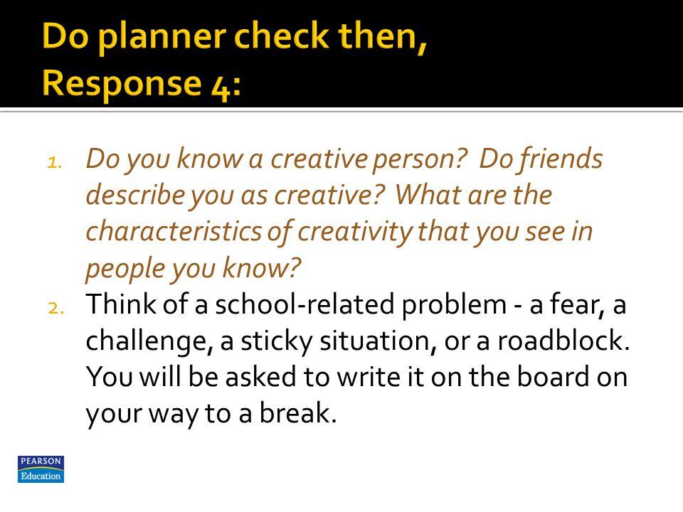 describe a creative person