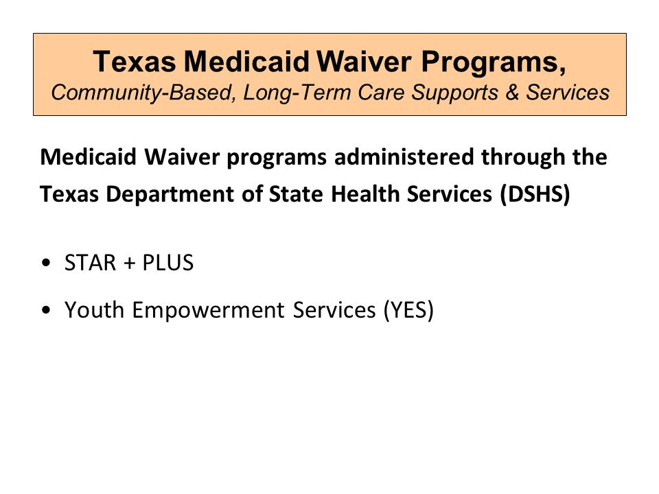 States consolidating medicaid waivers