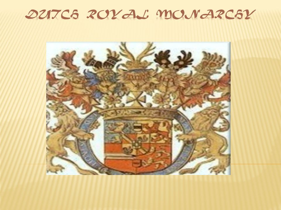 The Netherlands Is A Constitutional Monarchy The Position Of The