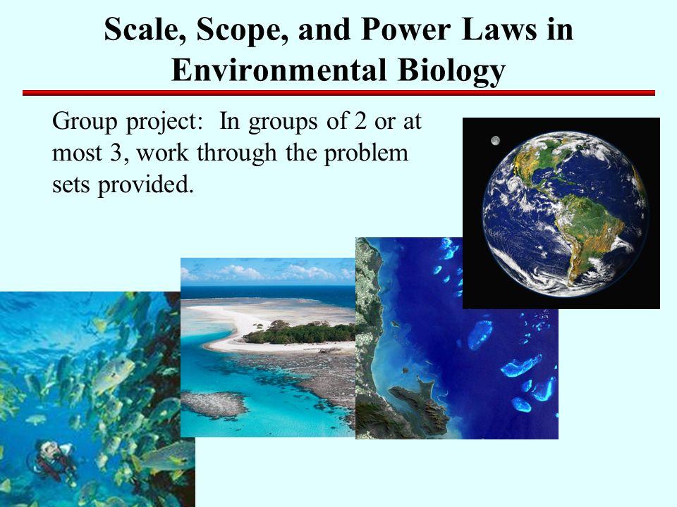 scope of environmental biology