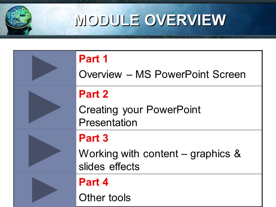 cmpf124 basic skills for knowledge workers module 3 microsoft office