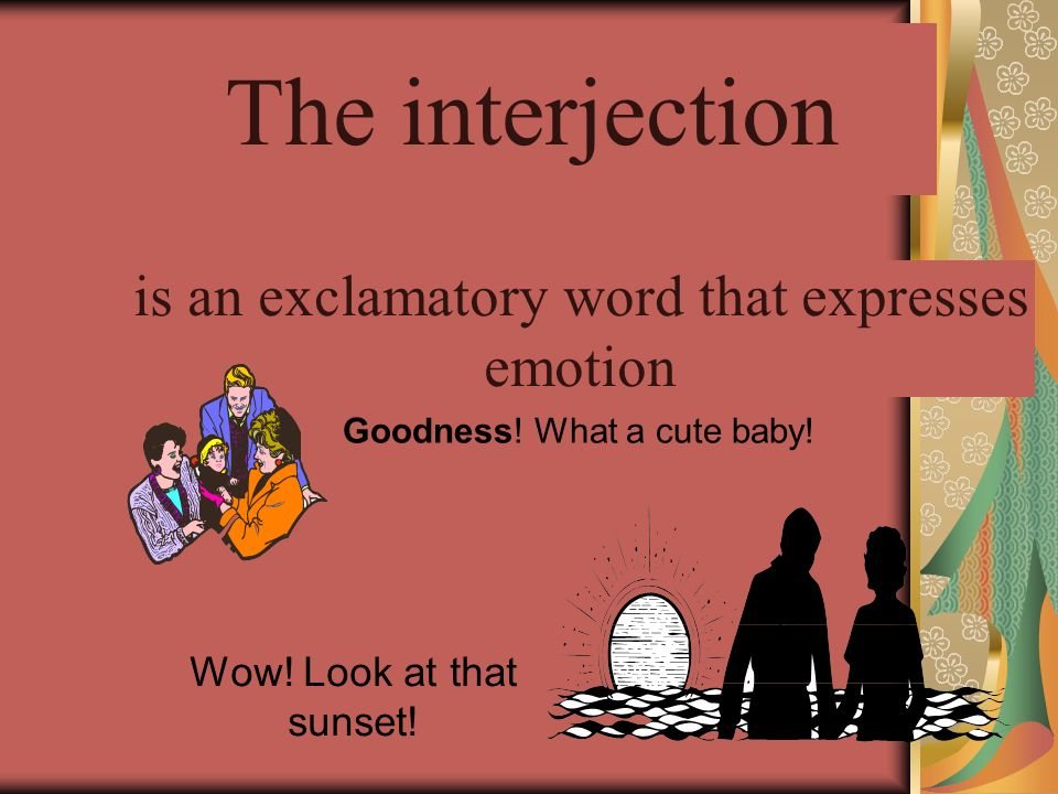 The conjunction A conjunction is a word that joins words or groups of words.