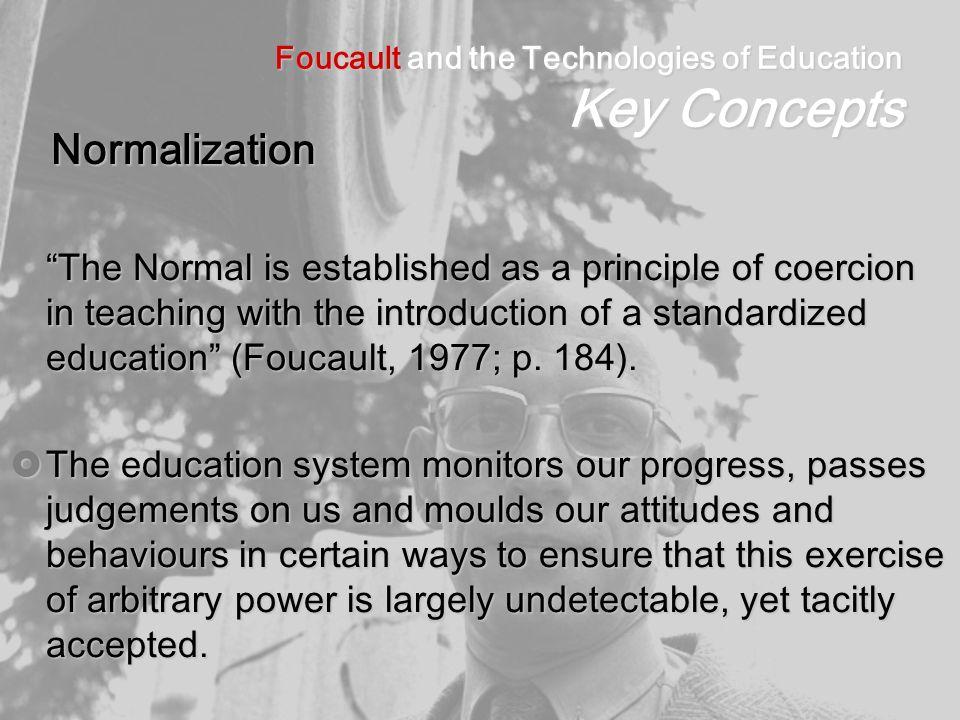 Foucault & education