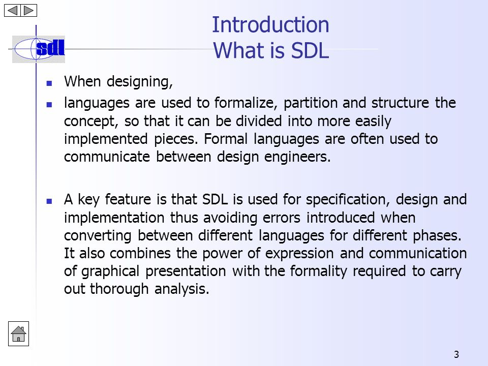 Specification And Description Language Lecture 5 Sdl Department Of Software Engineering Ppt Download