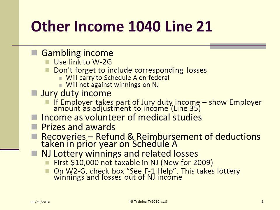 1040 line 21 gambling casino discount appliances bullhead city