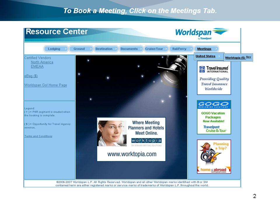 Meeting arrangement website
