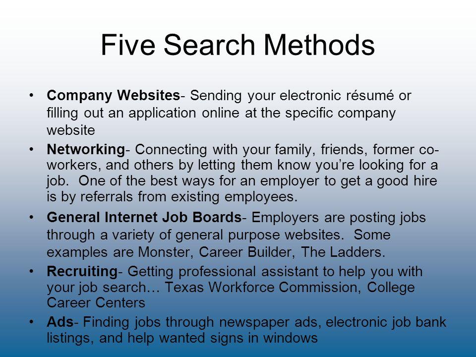 Step Three Search: Labor Market Realities Lifelong Employability ...