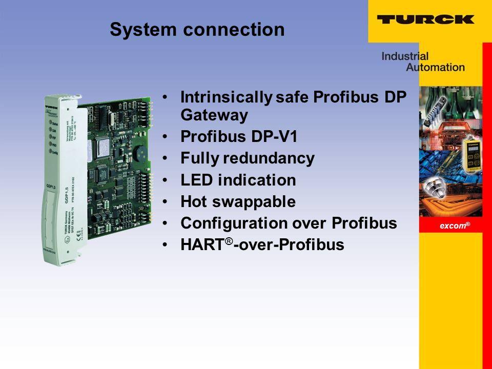 Excom ® Remote I/O in Zone 1  excom ® excom ® One system for