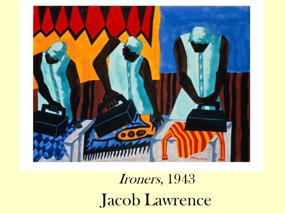 Ironers, 1943 Jacob Lawrence