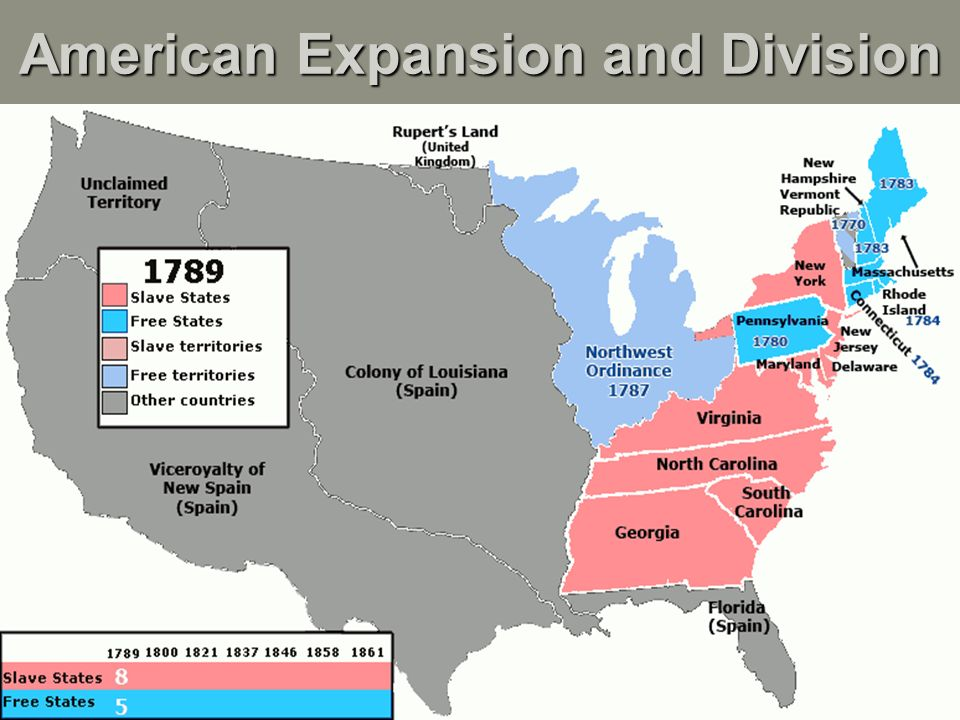 A Road Map To Civil War An Uneasy Compromise Northwest Ordinance