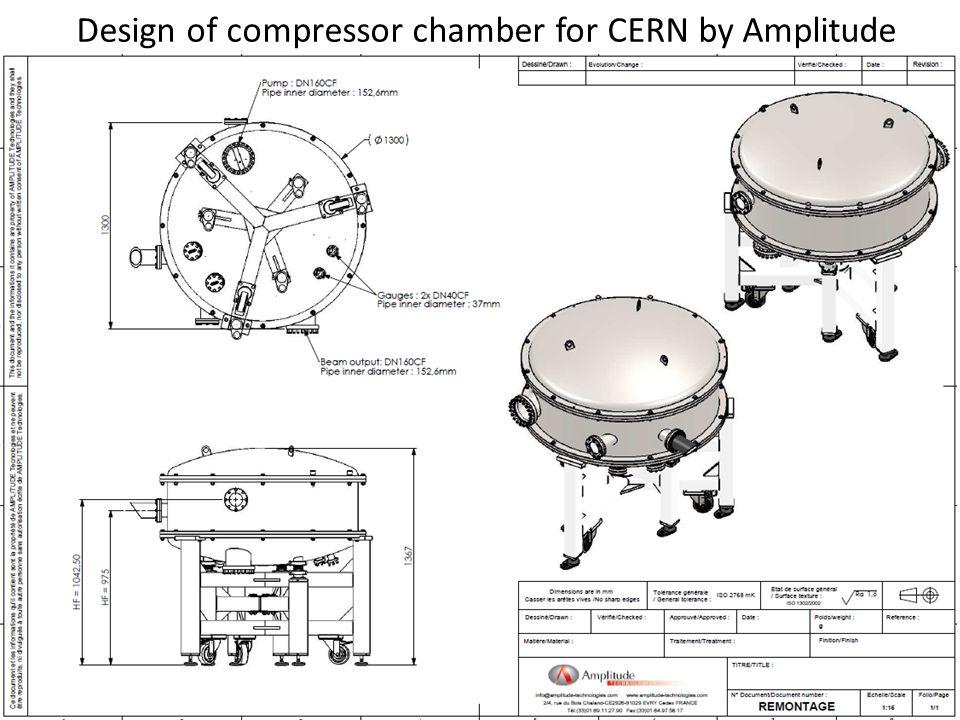 Compressor status AWAKE Technical Board meeting 19 August