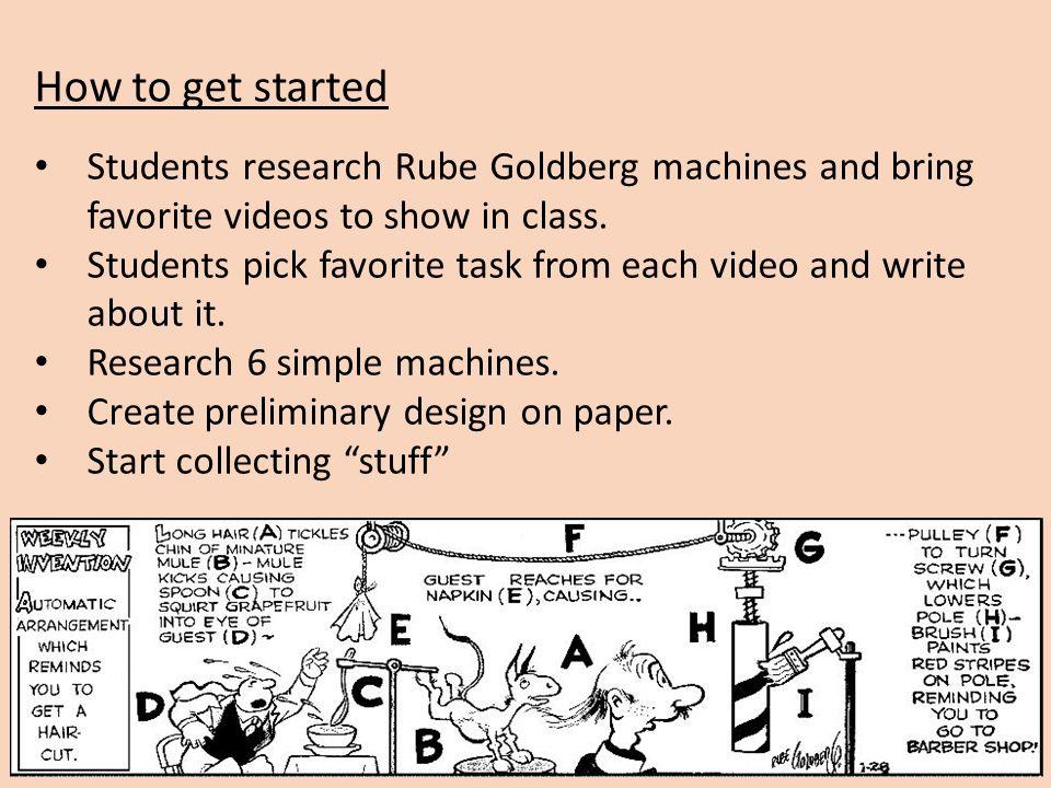 teachengineering rube goldberg