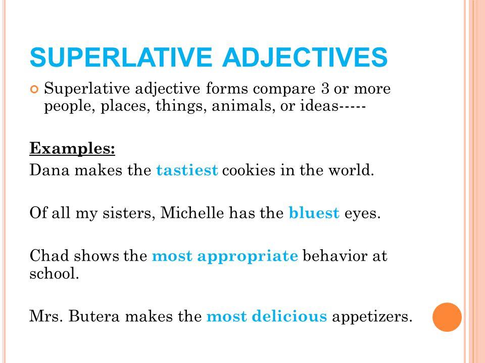 grammar mini lessons correct order of adjectives comparative