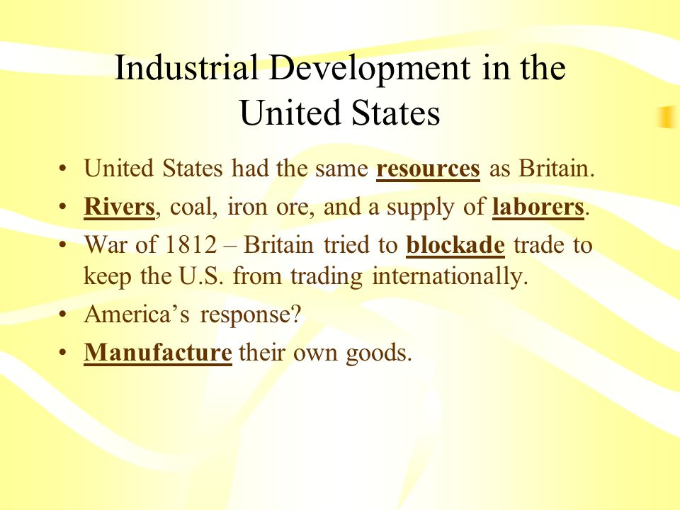 industrialization spreads chapter 9 section 3 main idea the rh slideplayer com