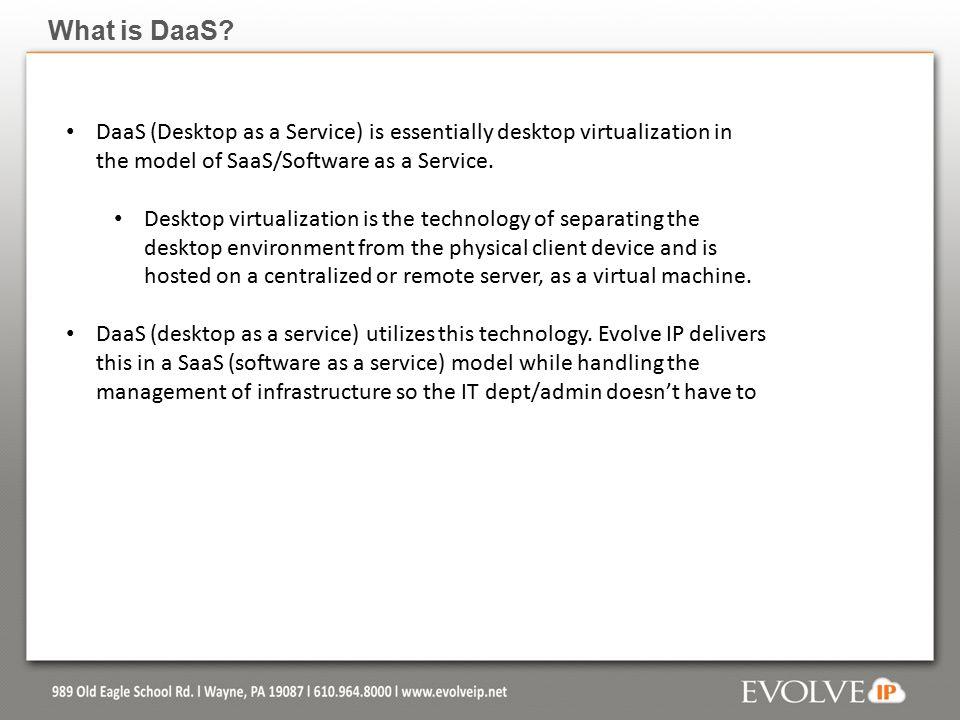 DaaS (Desktop as a Service) Last Update: July 15 th, ppt