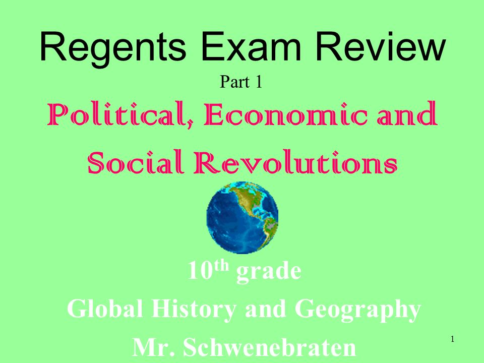global history regents review A new program on the transition global history and geography regents exam.