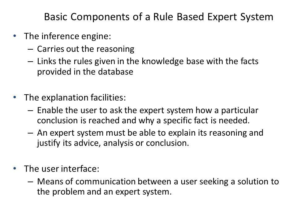 Rule-Based Expert System Aziz Kustiyo Departemen Ilmu Komputer FMIPA