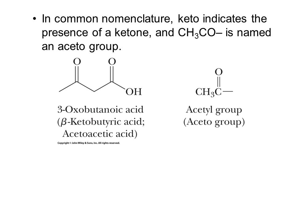 Carboxylic Acids The functional group of a carboxylic acid