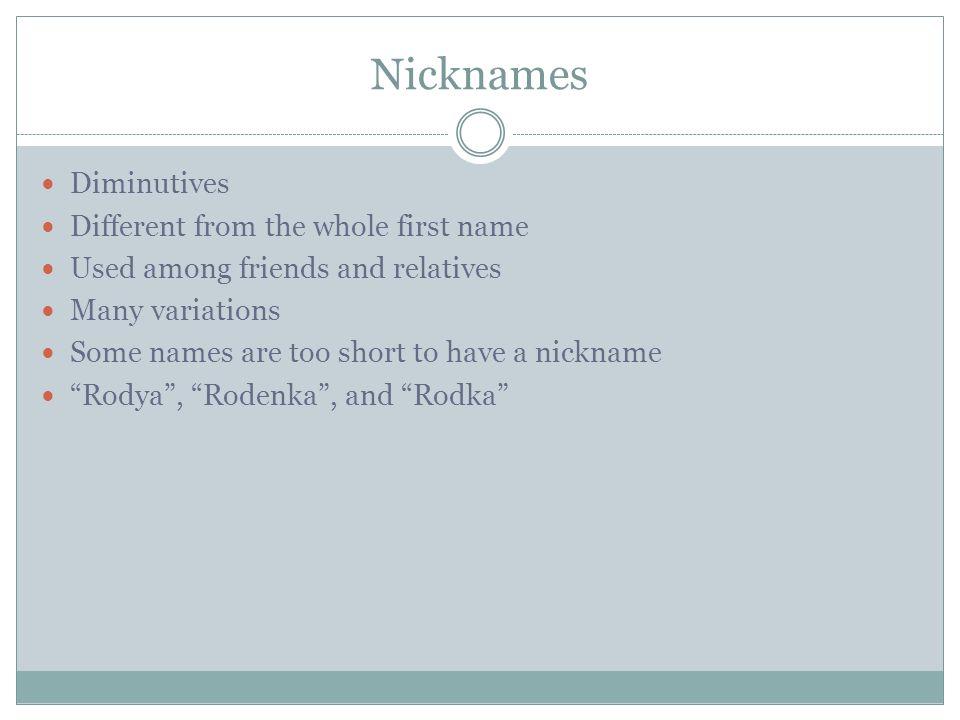 Nicknames for the name megan