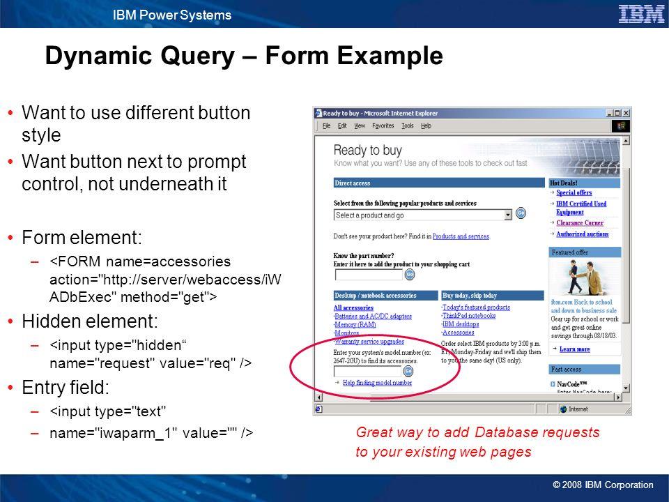 IBM Power Systems ™ Agenda Key: Session Number: System i