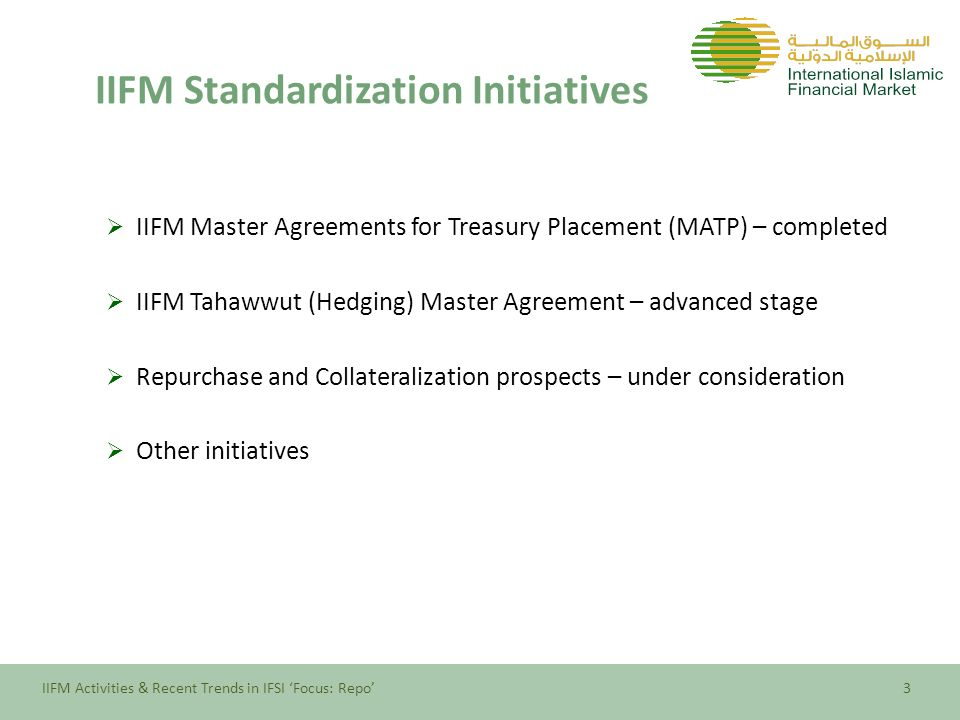 Iifm Activities And Recent Trends In Ifsi Focus Repo Oic Member
