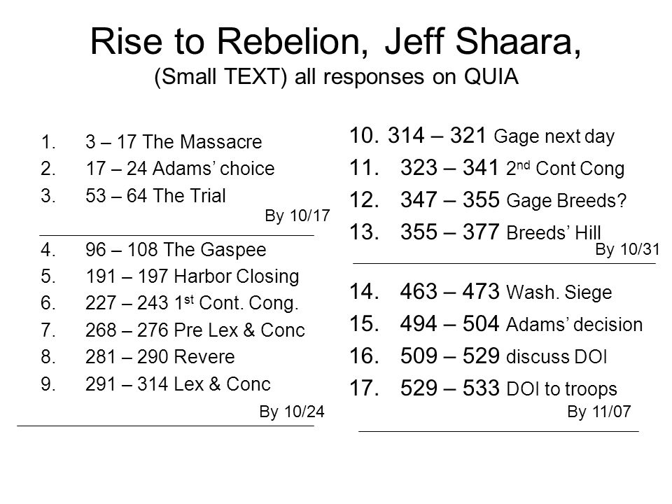 Rise To Rebellion By Jeff Shaara A Novel Of The American Revolution