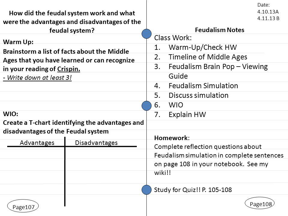 2 Feudalism: Feudalism Worksheet At Alzheimers-prions.com