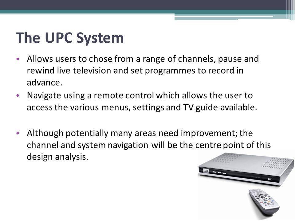 Cognitive Ergonomics: Design Analysis & Proposed Enhancement UPC