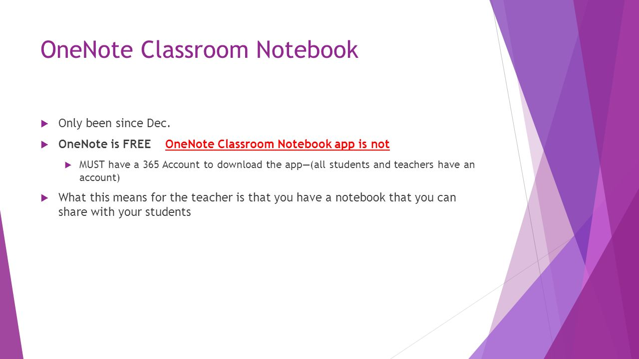 OneNote Classroom Notebook A Three-Part Digital Notebook for your