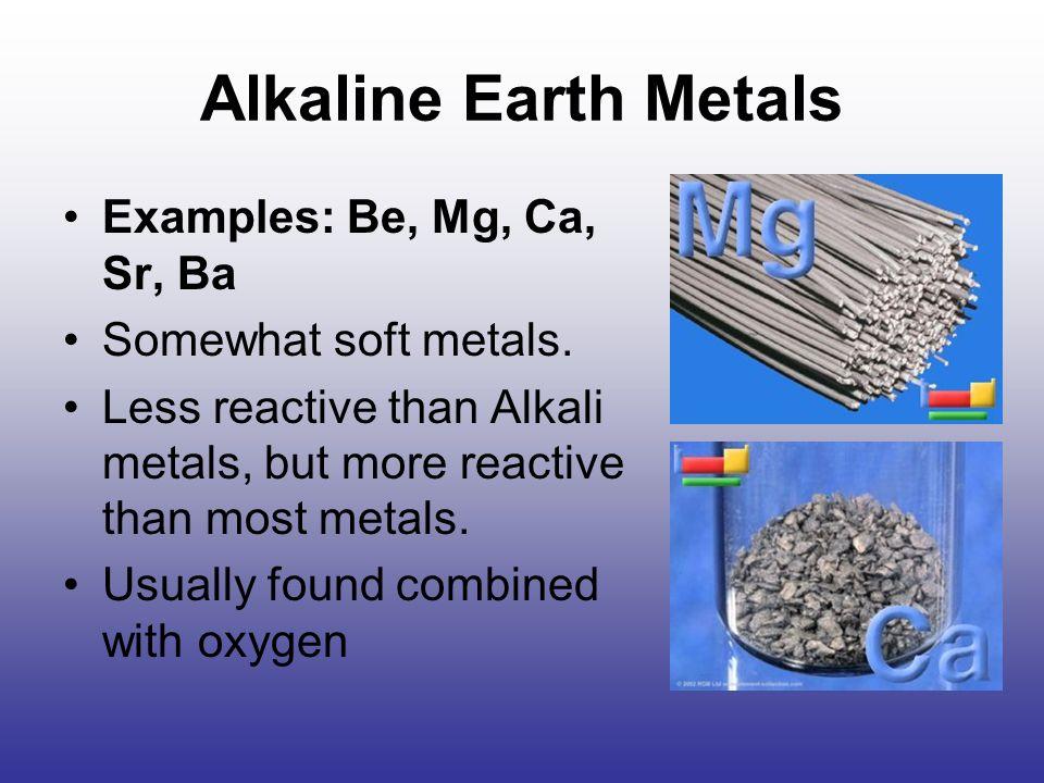 Attractive 10 Alkaline Earth Metals Examples: ...