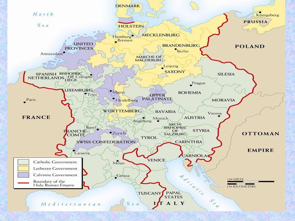 Sides Protestant France Sweden Dutch Danes German States