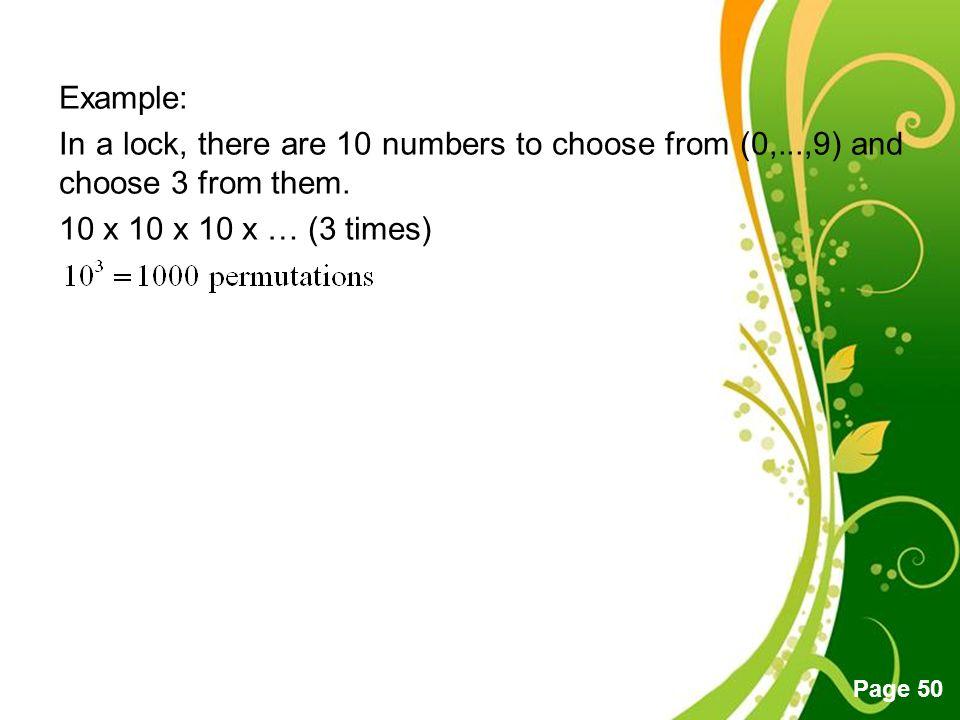 Free powerpoint templates page 1 free powerpoint templates eqt 272 free powerpoint templates page 50 example in a lock there are 10 numbers to toneelgroepblik Images