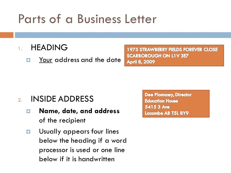 Envelope And Business Letter Formating The All You Need To Know