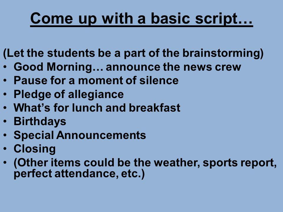 Elementary News Show By Cathy Mattocks – Media Specialist