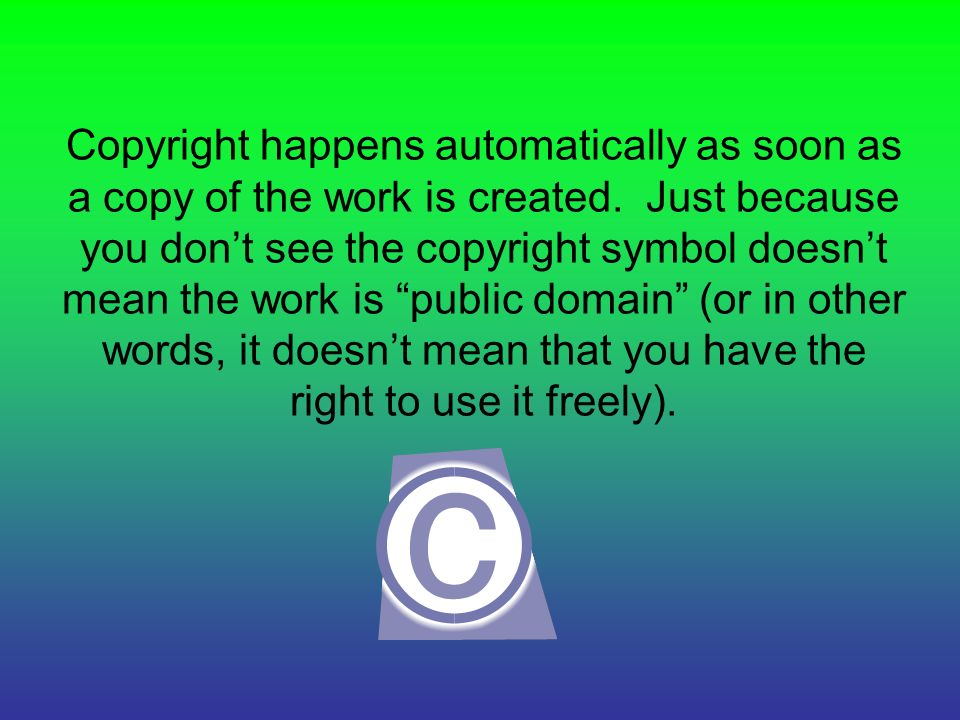 Copyright Rules And Regulations What Do They Permit Ppt Download