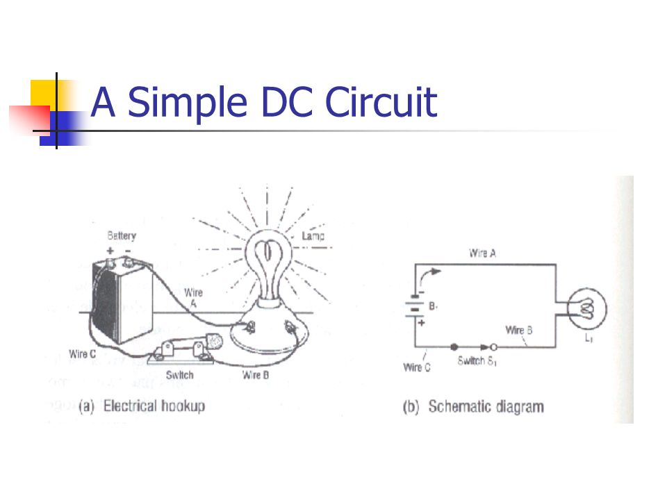 A Simple DC Circuit
