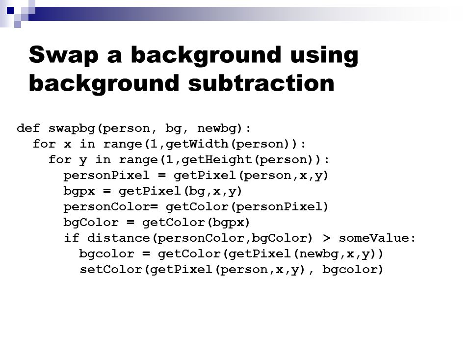 CS1315: Introduction to Media Computation How to design and