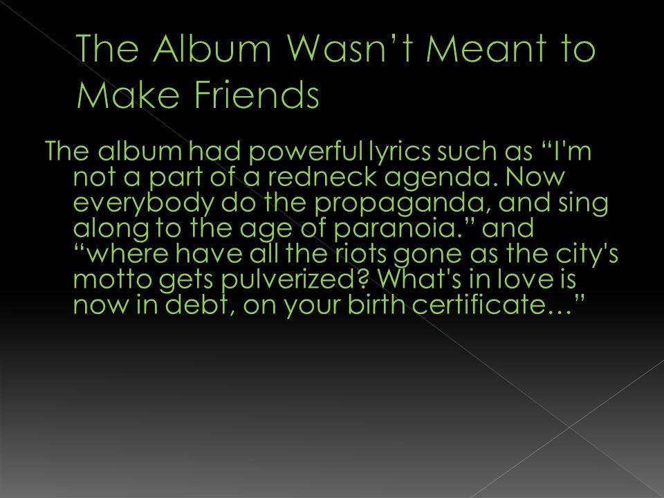 Guitarist: Born February 17 th, 1972 in Rodeo, California Bassist ...
