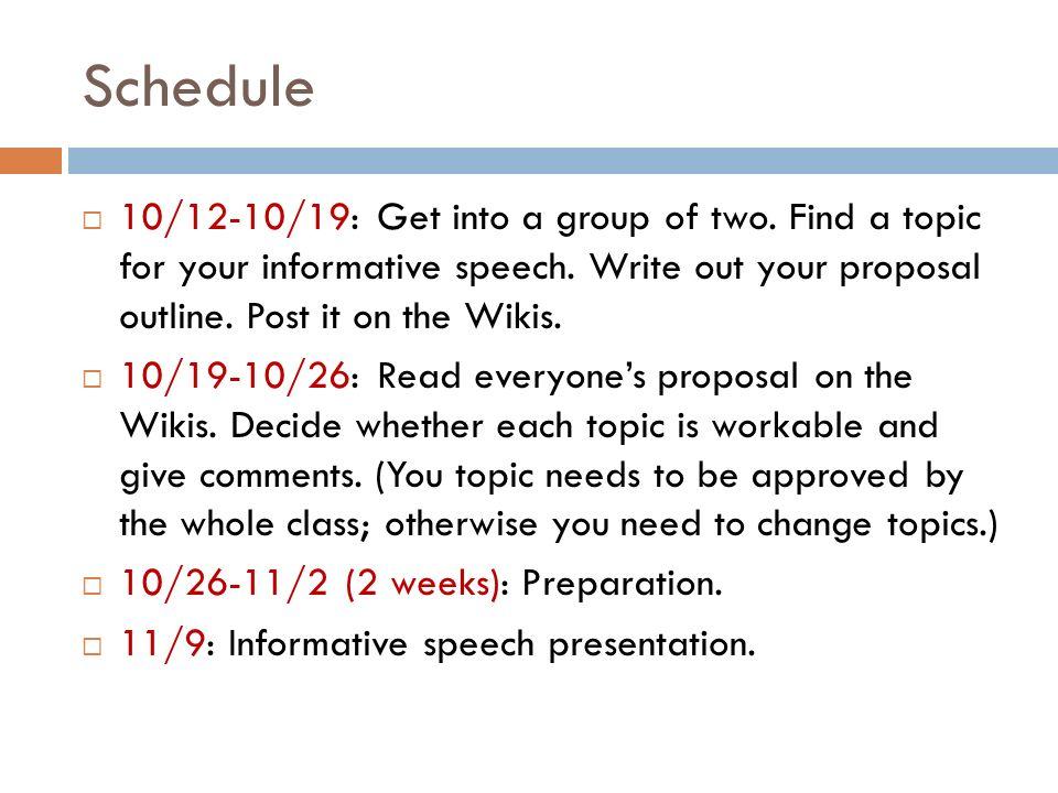 culture speech outline