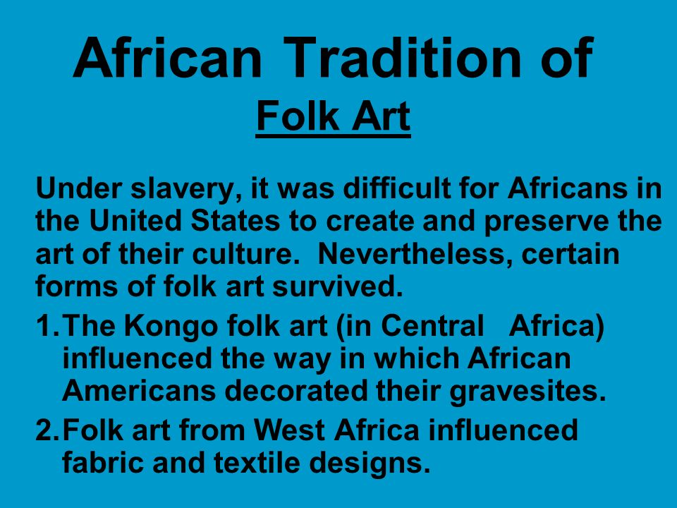 Image result for africanism in american culture