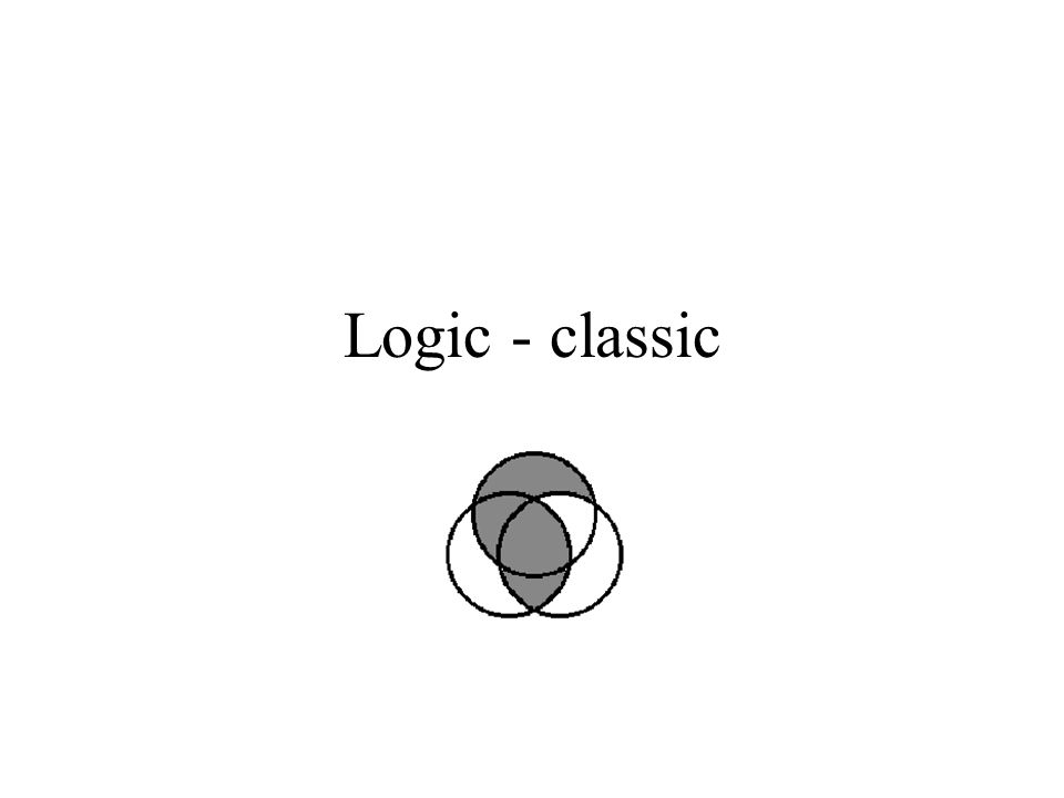 Logics The Lecture Set Theory Boolean Logic Logic Reasoning Fuzzy