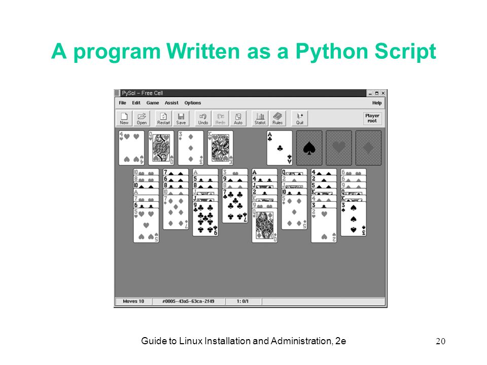 Guide to Linux Installation and Administration, 2e1 Chapter