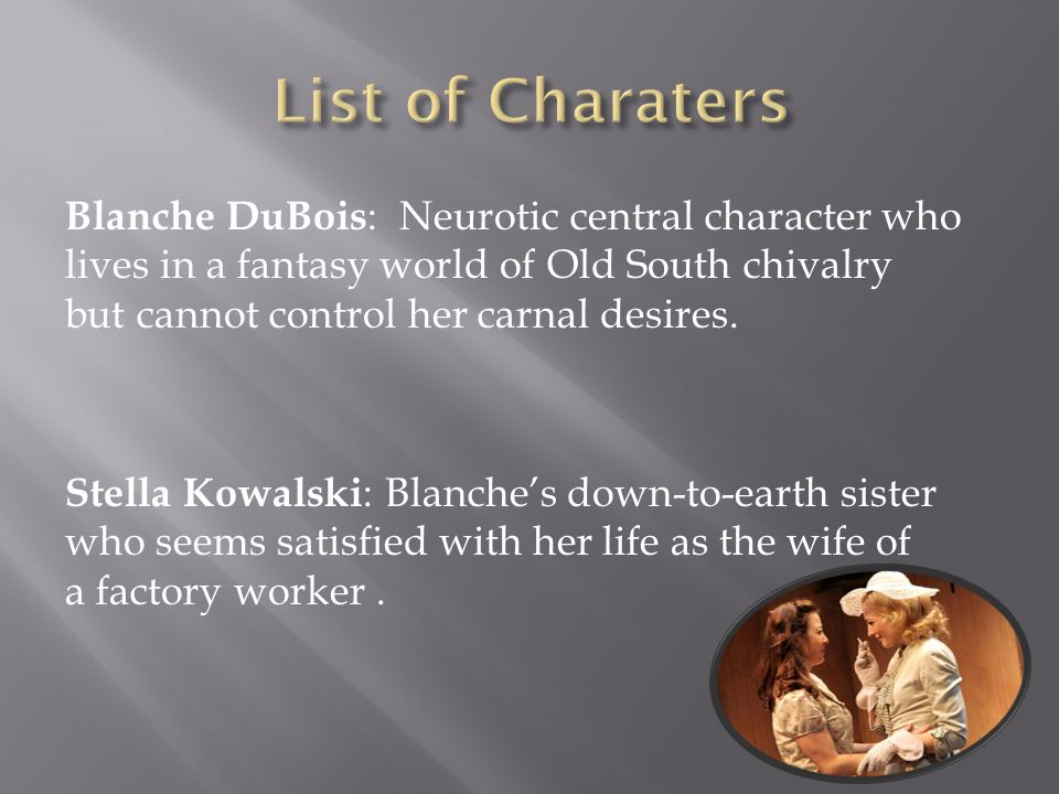 blanche dubois character analysis