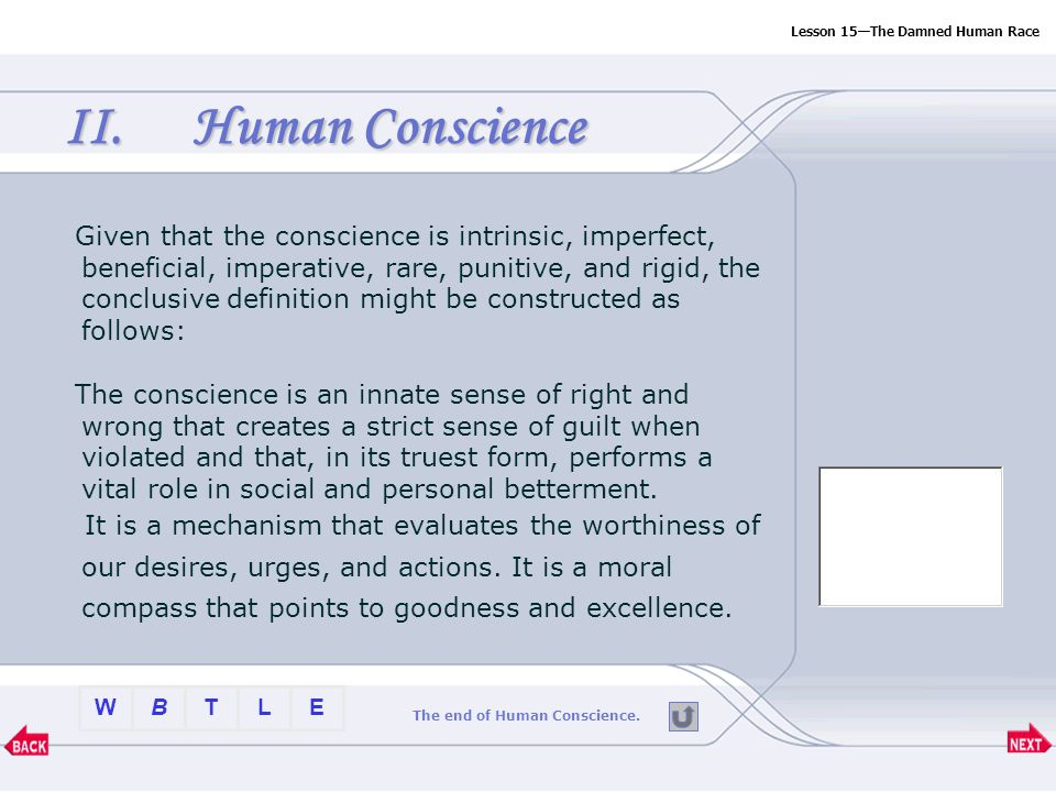 Btlew Lesson The Damned Human Race Part Two Enter  Ppt Download  Btlew  Mental Health Essay also Essays On Business Ethics  Research Essay Proposal Sample