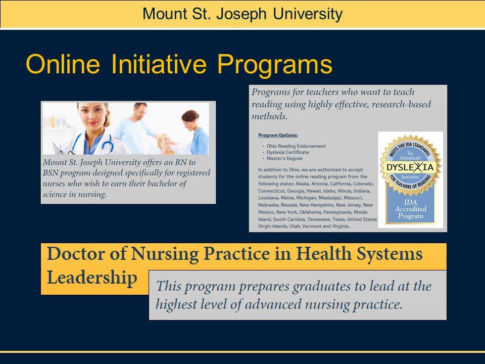 st josephs university online