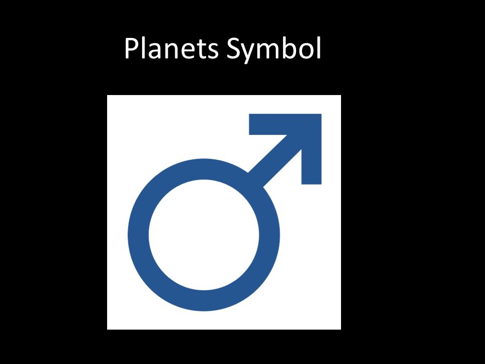 Planets Symbol Name From Greek God Ares The God Of War Also Called