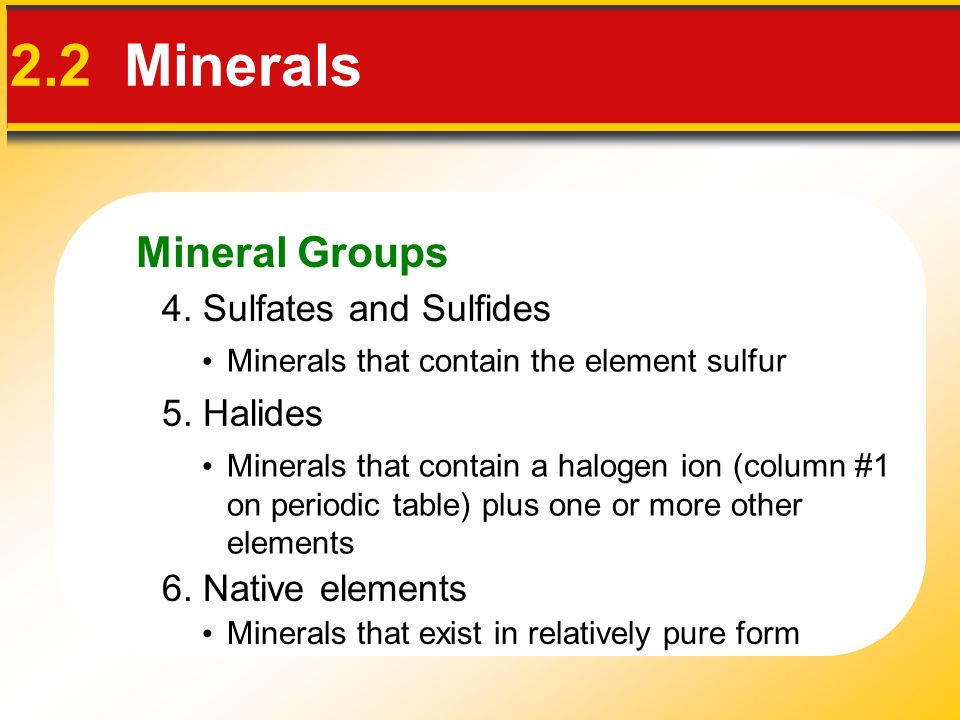 2 Chapter 2 Minerals  Elements and the Periodic Table 2 1 Matter
